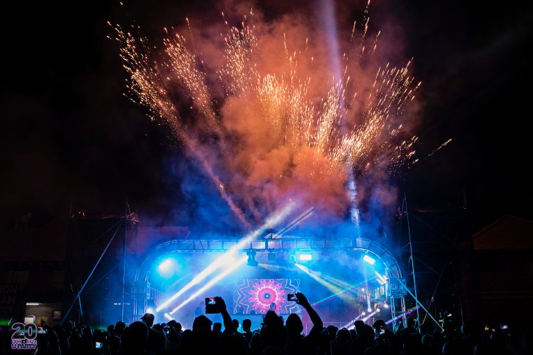 Waterstone Family Festival 2018 fireworks