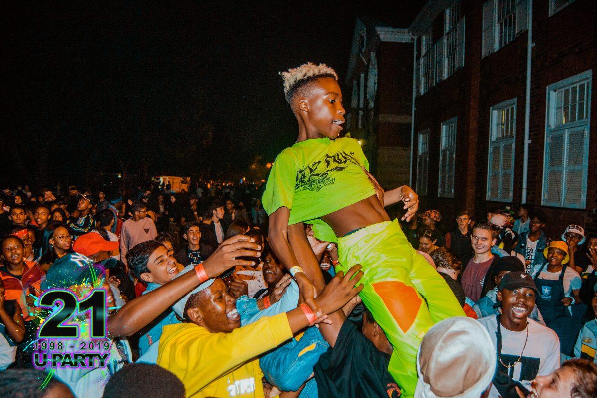 Parktown Girls Lockdown 2019 Uncle Vinny crowdsurfing