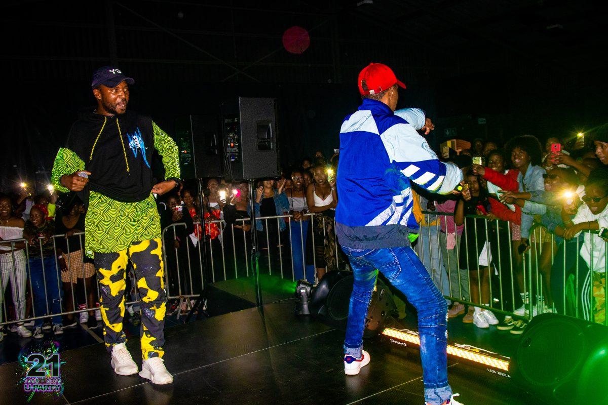 St Dominic_s 90s Xtinction 2019 OKmalumkoolkat on stage
